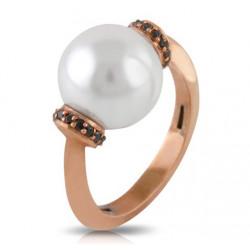 Sortija Diamantes con Perla Australiana TRO6931B